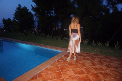 Mermaid Skirt, Missguided, Size 6