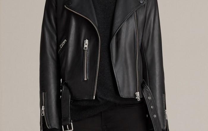 Allsaints Belfern Leather Jacket