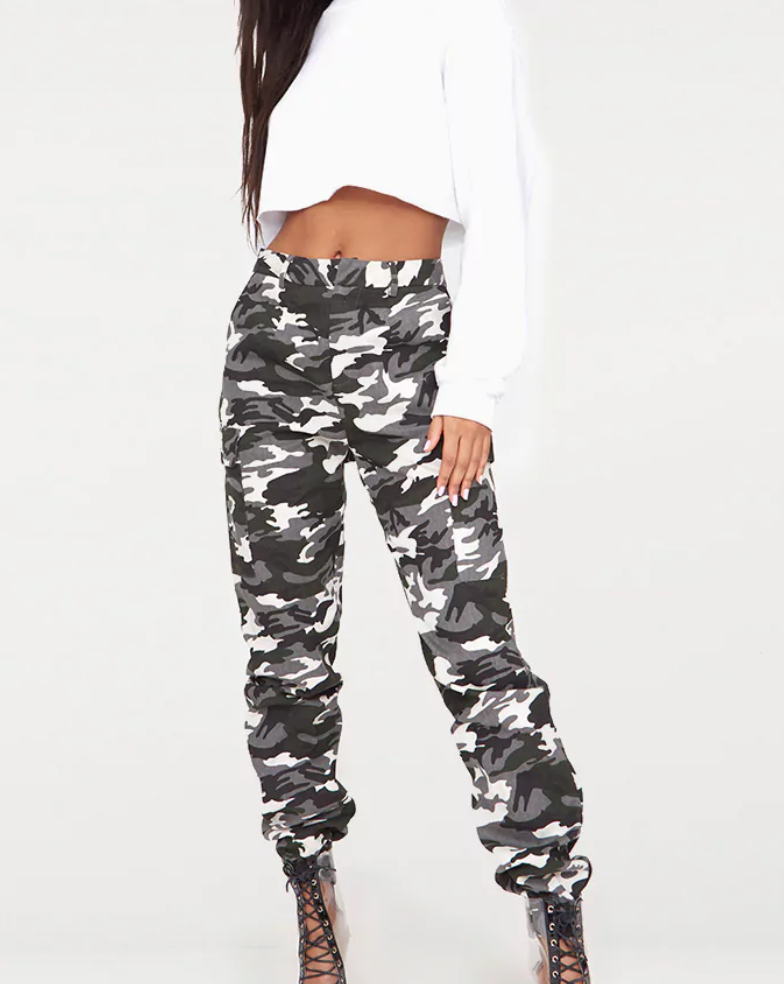 Camo Cargo Pants - Pretty Little Thing